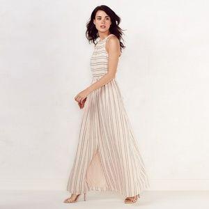 Women's LC Lauren Conrad Striped Linen Maxi Dress